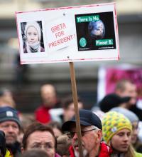 Foto: Die Fridays for Future-Bewegung hat dem Klimaschutz neuen Antrieb gegeben. Ein BGE kann hier Teil der Lösung sein.